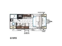 rockwood trailers floor plans 2017 forest river rockwood geo pro g19fd bend or rvtrader com