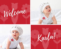 baby photo collage templates canva