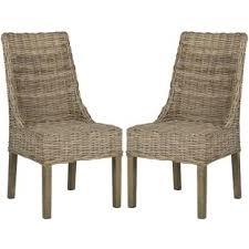 wicker u0026 rattan kitchen u0026 dining chairs you u0027ll love wayfair