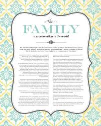 family proclamation best 25 proclamation to the world ideas on the family