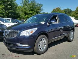 buick enclave 2016 2016 buick enclave leather awd in dark sapphire blue metallic