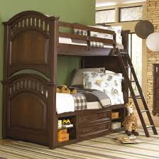 Youth Bunk Beds Samuel Expedition Youth Bunk Bed W Ladder Storage