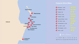 Cancun Mexico Map by Scubacaribe U2013 Chitales