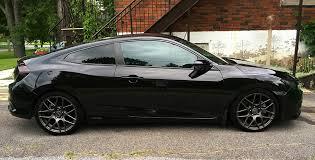 black honda civic black civic ex t coupe mods 2016 honda civic forum 10th