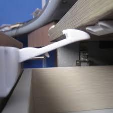 Baby Cabinet Door Locks 10 Pcs Baby Child Cupboard Fridge Cabinet Door Lock