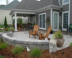 Backyard Paver Patio Designs Beauteous Back Garden Patio Designs Brick Paver Patio Designs