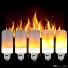 online buy wholesale candle flicker bulb from china candle flicker e27 e26 led bulb simulation flickering flame effect corn light