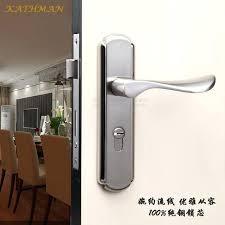 bedroom door handles garden door handles cheap minimalist interior door stainless steel