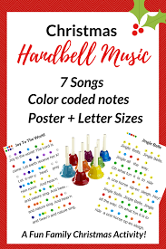 free printable christmas song lyric games christmas hand bell songs a family holiday tradition so festive