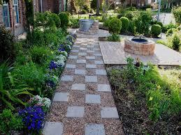 Backyard Pebble Gravel Triyae Com U003d Pea Gravel Landscaping Ideas Various Design