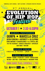 3rd annual evolution of hip hop festival