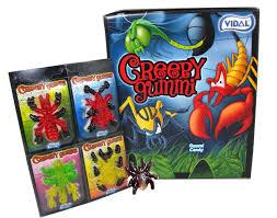 creepy gummy candies 18 count 72 bugs blaircandy com