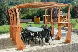 tonnelle de jardin en bois de jardin bois epicea