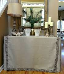 Diy Sofa Slipcover No Sew by How To Make A Sofa Table Slipcover