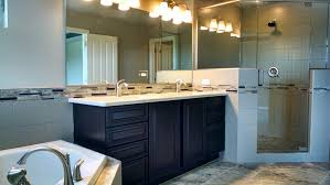 Double Sinks In A Small Bathroom Baths Phillippe Builders