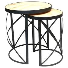 crate and barrel nesting tables round nesting tables province round nesting tables target round