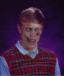 Bad Luck Meme Generator - zombie bad luck brian blank meme template imgflip