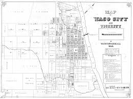 Texas Cities Map 1869 City Map