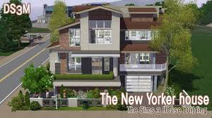 the sims 3 house building the new yorker house speed build
