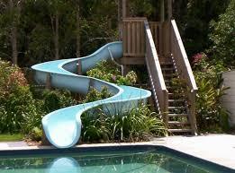 best 25 swimming pool slides ideas on pinterest pool with slide