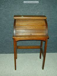 vintage roll top desk value antique arts crafts mission oak child roll top desk stand unique