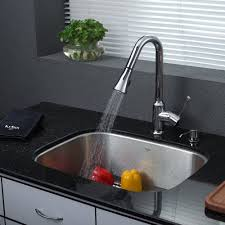 spiral kitchen faucet stainless steel kitchen sink combination kraususa com