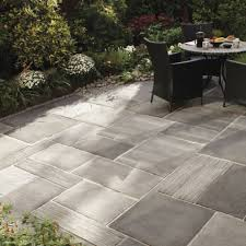 Stamped Concrete Backyard Ideas by Stamped Concrete Patio As Lowes Patio Furniture And Fancy Patio