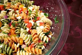 pasta salad recipe easy easy pasta salad with feta cheese the cooking mom
