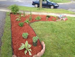 How To Mulch Flower Beds Was Red Mulch A Mistake