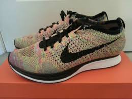 Jual Nike nike flyknit racer black and white jual running clearance