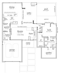 Contemporary House Floor Plan First Floor Plan Of Contemporary Modern House Plan 67590 Casas