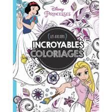 Disney Princesses  Les ateliers  Jeux et Coloriages  Eveil et 1er