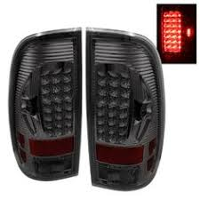 2001 Ford F150 Tail Lights For Smoked 98 03 Ford F150 F250 Styleside Led Tail Lights Rear