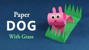 paper crafts for kids super easy diy dog crafts tutorial youtube
