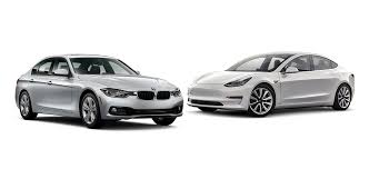 tesla model 3 vs bmw 3 series 320i sedan comparison head to head