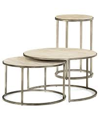 Round Glass Coffee Table by Furniture Bronze Side Table Round Nesting Tables Triangle
