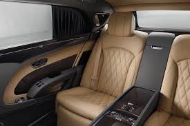 bentley sedan interior bentley ramps up the luxury for revised 2016 mulsanne range by car