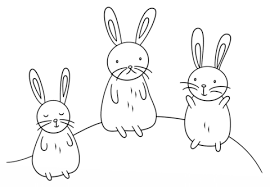 bunny coloring pages printable kawaii bunnies coloring page free printable coloring pages