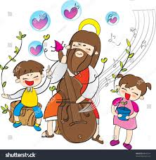 happy christian religion christianity stock vector 88442311