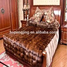 tappeti di pelliccia grandi tappeti di pelliccia da vera pelliccia di volpe pelliccia