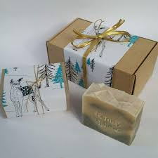 christmas soap gift box 3x large bars of beautiful natural soap