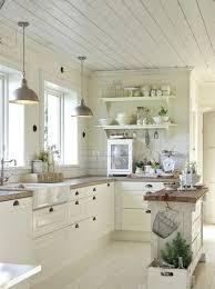 deco cuisine blanc et bois table cuisine blanche beautiful deco cuisine blanche images design