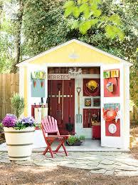 Small Backyard Shed Ideas 17 Ways To Make Organizing Fun Sheds Garden Sheds And Gardens