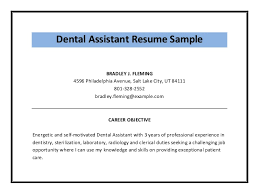 Self Motivated Resume Examples by Dental Assistant Resume Sample Pdf