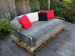 pallet daybed plans pallet furniture projects