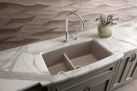 Blanco Silgranit Kitchen Sinks Traditional Kitchen Houston - Blanco kitchen sink reviews