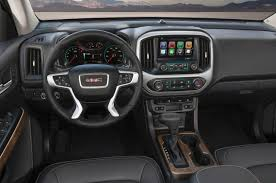volkswagen pickup interior gmc unveils 2017 canyon denali its first luxury midsize pickup