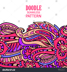 Design An Invitation Card Doodle Seamless Border Pattern May Be Stock Vector 355687166