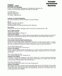 Sample Resume Of Software Tester by Software Tester Resume Sample Resume Writing Service