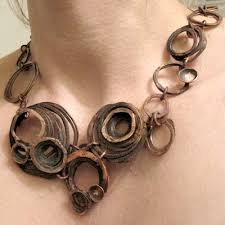 copper necklace images Barnacle bunches copper necklace jewelry making journal jpg